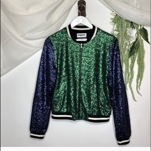 Anthropologie Amadi stitched textured sweatshirt